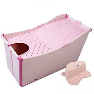 l Baignoire De Bain Pliable À La Maison pour Adulte Baignoire/Baignoire pour Enfant (Couleur : Rose, Taille : B) de la marque A J S image 0 produit