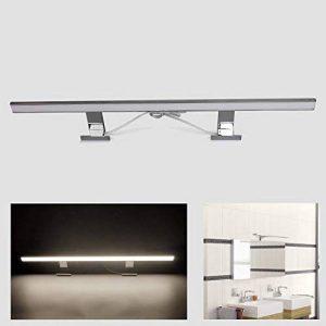 Lampe Salle de Bain Miroir LED 13W, Chrome, 80cm, Blanc Neutre (4200K), 850lm, 80x2835SMDs, Applique Murale pour Salle de Bain Applique Murale CRI> 80 [Energy Class A +] de la marque BAODE image 0 produit