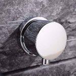 LHbox Lavabo Vasque Mitigeur Robinet l'eau Chaude et Froide en cuivre dans Le Bassin d'encastrement Mural Double-Double-Vasque lavabo Robinet Meuble de Salle de la marque LHbox Tap image 3 produit