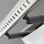 Lightsjoy 5W LED Applique Salle de Bain Lampe Miroir en Acier Inoxydable Eclairage IP44 avec Interrupteur Lumière de miroir Eclairage Pour Miroir Maquillage Armoire Blanc Froid [Classe énergétique A++] de la marque Lightsjoy image 3 produit