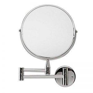 Lumaland Miroir de maquillage mural de haute qualité avec bras articulé Grossissement x5 de la marque Lumaland image 0 produit