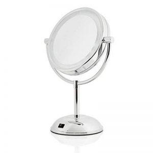 Lumaland Miroir rétro éclairé avec support galbé et éclairage LED Grossissement x5 de la marque Lumaland image 0 produit