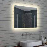 Lux-aqua Design Miroir Mural Miroir Lumineux à LED pour Salle de Bain 100x 70cm de la marque Lux-aqua image 1 produit