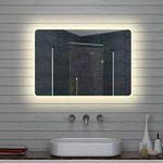 Lux-aqua Design Miroir Mural Miroir Lumineux à LED pour Salle de Bain 100x 70cm de la marque Lux-aqua image 2 produit