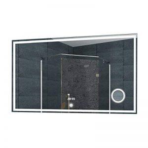 Lux-aqua Miroir de Salle de Bains Mural Lumineux LED Miroir de Maquillage - Interrupteur Tactile - 100x 60cm- LMC1060A de la marque Lux-aqua image 0 produit