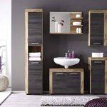 Maisonnerie 1259-401-60 Cancun Miroir Meuble de Salle de Bain Noyer Finition Satinée LxHxP 72 x 57 x 20 cm de la marque Maisonnerie image 2 produit