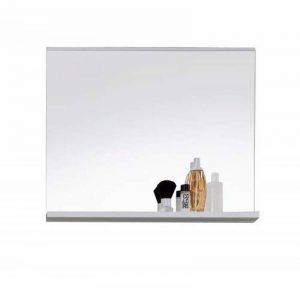 Maisonnerie 1280-401-01 Miroir Murale Meuble Salle de Bain Mezzo en blanc ultrabrillant LxHxP 60 x 50 x 10 cm de la marque Maisonnerie image 0 produit
