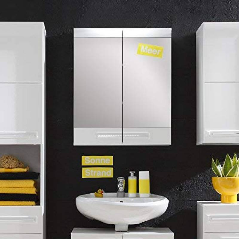 armoire murale miroir salle de bain pour 2019 les. Black Bedroom Furniture Sets. Home Design Ideas