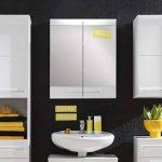 Maisonnerie 1327-503-01 Bora Armoire Miroir Murale Meuble Salle de Bain Blanc Ultrabrillant 60 x 71 x 15 cm de la marque Maisonnerie image 2 produit