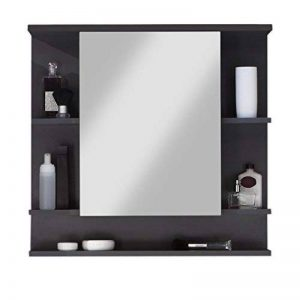 Maisonnerie 1330-403-21 Meuble Salle de Bain Miroir Armoire Murale Tetis Graphite Décor LxHxP 72x76x20 cm de la marque Maisonnerie image 0 produit
