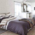 Meuble chiffonnier 4 tiroirs avec poignées en métal - Style palette - Coloris BLANC de la marque TENDANCE image 2 produit