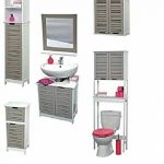 meuble de salle de bain avec deux vasques TOP 1 image 1 produit