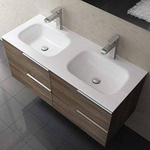meuble de salle de bain avec deux vasques TOP 3 image 0 produit