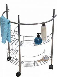 Meuble dessous lavabo Roulette Argent de la marque Cflagrant® image 0 produit