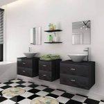 meuble lavabo noir TOP 9 image 2 produit
