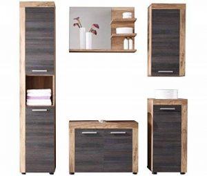 meuble miroir salle de bain bois TOP 1 image 0 produit