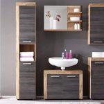 meuble miroir salle de bain bois TOP 1 image 1 produit