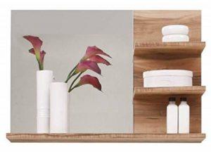 meuble miroir salle de bain bois TOP 2 image 0 produit