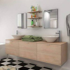 meuble salle de bain 2 vasques TOP 11 image 0 produit