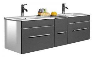 meuble salle de bain bois double vasque TOP 0 image 0 produit