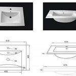 meuble salle de bain bois double vasque TOP 1 image 4 produit