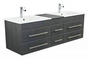meuble salle de bain bois double vasque TOP 2 image 0 produit