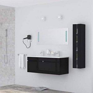 meuble salle de bain bois double vasque TOP 5 image 0 produit