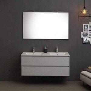 meuble salle de bain bois double vasque TOP 7 image 0 produit