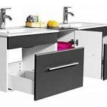 meuble salle de bain double vasque TOP 1 image 2 produit