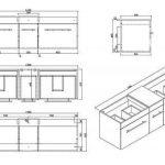 meuble salle de bain double vasque TOP 1 image 3 produit
