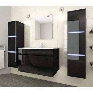 meuble salle de bain vasque noire TOP 4 image 0 produit