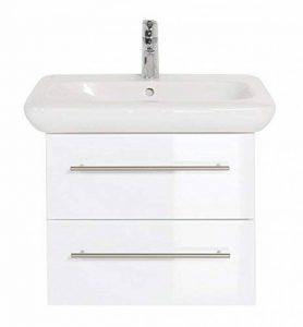 Meuble SDB avec vasque de Keramag IT! 60 cm à deux tiroirs blanc brillant de la marque Emotion image 0 produit