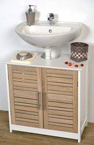 meuble vasque salle de bain 60 cm largeur TOP 2 image 0 produit