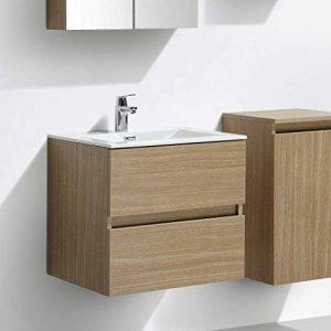 meuble vasque salle de bain 60 cm largeur TOP 5 image 0 produit