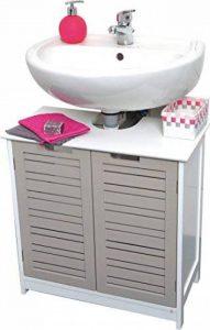 meuble vasque salle de bain 60 cm TOP 1 image 0 produit