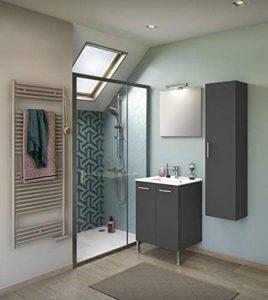 meuble vasque salle de bain 60 cm TOP 11 image 0 produit
