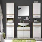 meuble vasque salle de bain blanc TOP 1 image 4 produit