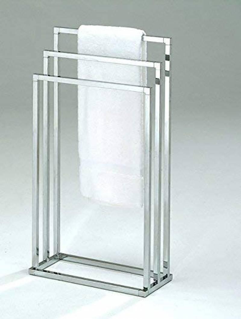 Hauteur Porte Serviette Salle De Bain porte-serviette sur pied hauteur 89 cm base stable cuisine