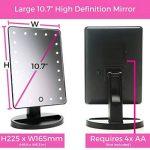 miroir beauté lumineux TOP 5 image 4 produit