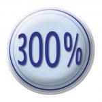 Miroir cosmétique sur pied Assisi - repliable, 100% et 300%, chrome, miroir de Ø 11 cm, 14 x 29 x 12 cm de la marque Wenko image 1 produit