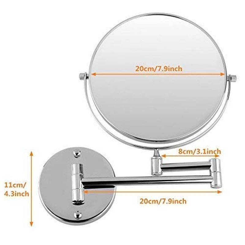 Miroir grossissant x5 mural pour 2019 faire des affaires meubler sa salle de bain - Miroir grossissant salle de bain mural ...