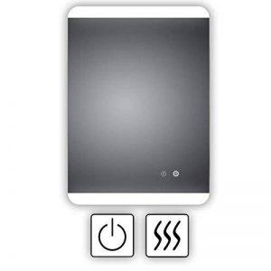 -Miroir de salle de bain avec éclairage LED et chauffage électrique anti-buée, pieds 60x80cm, montage horizontal et vertical, miroir de salle de bain éclairé en haut et en bas, classe énergétique A+ de la marque HOKO Spiegel image 0 produit