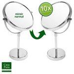 miroir grossissant 10 fois sur pied TOP 4 image 2 produit