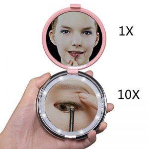 miroir grossissant lumineux 10x TOP 10 image 0 produit
