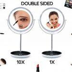 miroir grossissant lumineux 10x TOP 13 image 2 produit