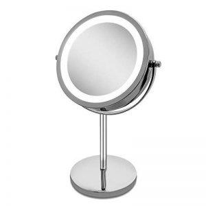 miroir grossissant lumineux 10x TOP 8 image 0 produit