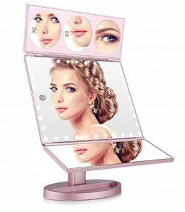 miroir grossissant lumineux 10x TOP 9 image 0 produit