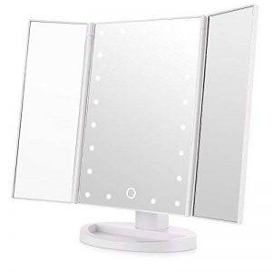 miroir grossissant lumineux sur pied TOP 8 image 0 produit
