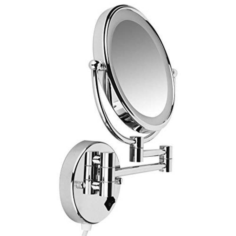Miroir grossissant mural x5 faites des affaires pour 2019 meubler sa salle de bain - Miroir grossissant salle de bain mural ...