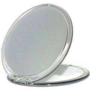 Miroir grossissant X 10 - Diametre 11 cm - parfait pour le sac, salle de bain, voiture de la marque NOVAX image 0 produit